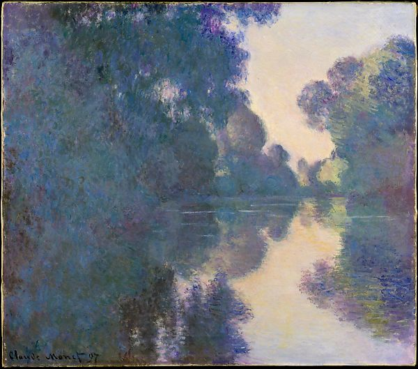 Monet (1897) - Morning on the Seine near Giverny